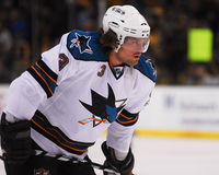 Douglas Murray San Jose Sharks Royalty Free Stock Images