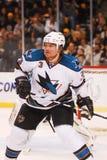 Douglas Murray, San Jose Sharks lizenzfreie stockfotos