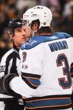 Douglas Murray, San Jose Sharks lizenzfreie stockbilder