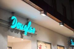 Douglas at night Royalty Free Stock Photos