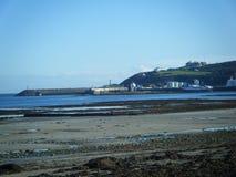 Douglas Pier na ilha do homem Foto de Stock