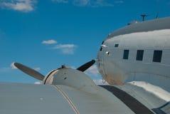 Douglas R4D Skytrain - Propeller-Flugzeug stockbild
