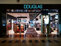 Free Douglas Store At Mall Baneasa Shopping City, Romania Royalty Free Stock Photography - 149931097
