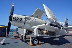 Douglasen A-1 Skyraider Arkivbild