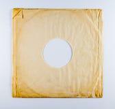Douille d'album de vinyle de vintage Photo stock