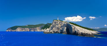Doukato Cape, Lefkada Stock Photo