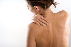 Douleur cervicale Photo libre de droits
