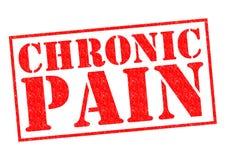 Douleur chronique Photos libres de droits