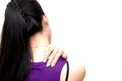 Douleur d'épaule Images libres de droits