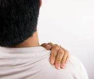 Douleur d'épaule Images stock