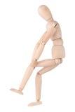 Douleur dans l'articulation du genou Image stock