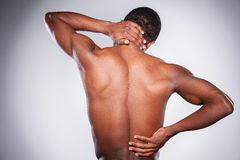 Douleur dans le joint. Image libre de droits