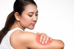 Douleur de bras Images stock