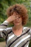 Douleur de mal de tête Photographie stock libre de droits