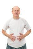 Douleur de malnutrition distension abdominale photos stock