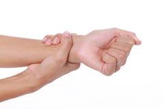 Douleur de poignet Photo stock