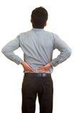 Douleur dorsale Photo stock
