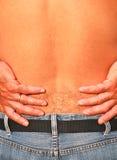 Douleur dorsale photos stock