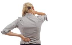 Douleur dorsale Image stock