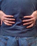 Douleur dorsale images stock