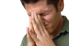 Douleur et confusion Photographie stock libre de droits