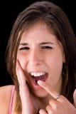 Douleur molaire Photo libre de droits