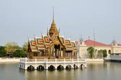 Douleur Royal Palace, Ayutthaya de coup Photographie stock libre de droits