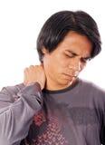 Douleurs cervicales photo libre de droits