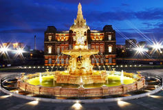 Doulton fountain Stock Photo