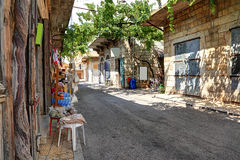 Douma, Lebanon. The old souks in the village of Douma, Lebanon stock photography