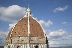 Doumo Cathedral Church Dome, Florence Royalty Free Stock Photos