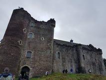 Doune castle gameofthrones stock photo