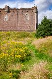 Doune Castle Outer Wall Stirling Scotland UK Stock Photo