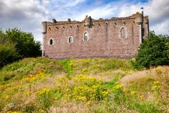 Doune Castle Outer Wall Stirling Scotland UK Royalty Free Stock Image