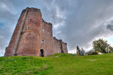 Doune Castle, Scotland Royalty Free Stock Photo