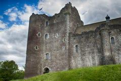 Doune castle. View of Doune Castle in Callander, Scotland Stock Photos