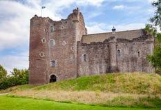 Doune Grodowa Zewnętrzna ściana Stirling Szkocja UK Zdjęcie Stock