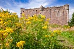 Doune Grodowa Zewnętrzna ściana Stirling Szkocja UK Fotografia Stock