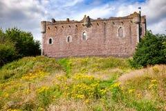 Doune Grodowa Zewnętrzna ściana Stirling Szkocja UK Obraz Royalty Free