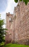 Doune Grodowa Zewnętrzna ściana Stirling Szkocja UK Obrazy Royalty Free