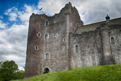 Doune-Schloss Stockfotos