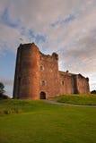 Doune slott, Stirlingshire, Skottland Arkivbilder