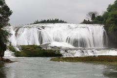 Doupotang瀑布在黄果树瀑布风景区在贵州,中国 库存图片