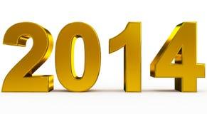 Ano 2014 Imagens de Stock Royalty Free
