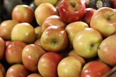 Dourado - Gala Apples deliciosa Fotografia de Stock Royalty Free