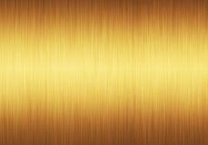 Dourado textured Fotografia de Stock Royalty Free