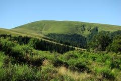 Dourmidou maximum i Pyrenees Royaltyfri Bild