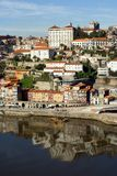 douro波尔图河视图 免版税库存照片