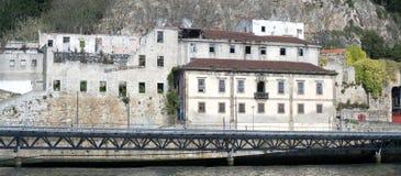 Douro brzeg rzeki - stary Porto, Portugalia Zdjęcia Stock