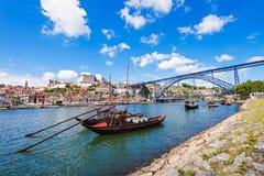 Douro flod Royaltyfri Fotografi